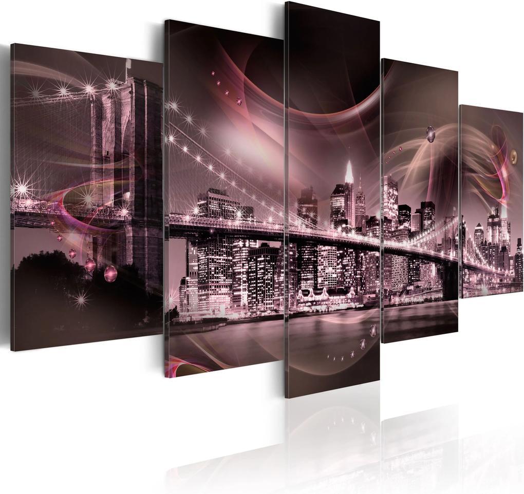Obraz - Retrospection - NYC 100x50