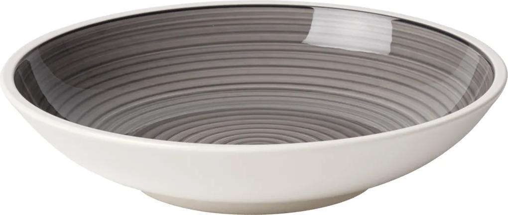 Villeroy & Boch Manufacture gris Tanier na cestoviny, 23,5 cm