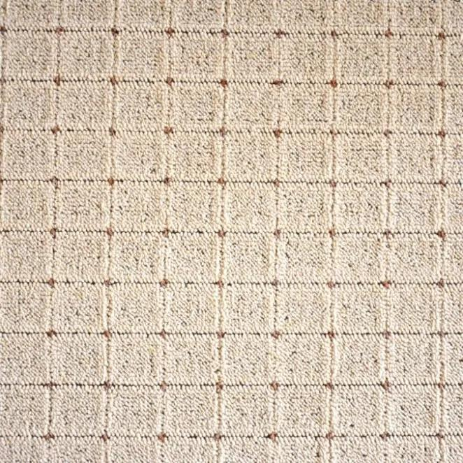 Vopi koberce Kusový koberec Udinese béžový čtverec - 80x80 cm