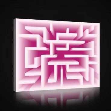 Obraz na plátne obdĺžnik - OB1008 - Labyrint 100cm x 75cm - O1