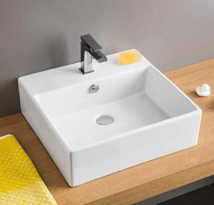 Artceram Quadro 50 50 x 48 cm umývadlo na dosku QUL002
