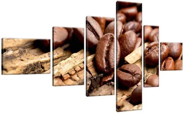 Obraz na plátne Káva na podlahe 180x100cm 2413A_6E
