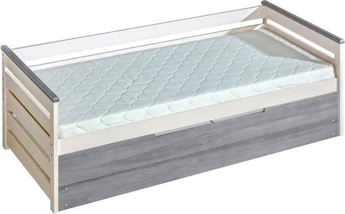 MAXMAX Detská posteľ z masívu 200x90cm so zásuvkou - ALENA 200x90 ÁNO