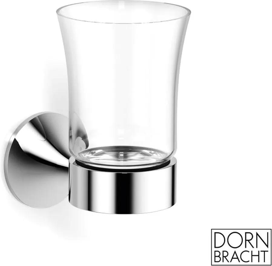 Dorbracht Vaia - držiak na pohár so skleným pohárom, farba držiaka: chróm, Dor 83400809-00