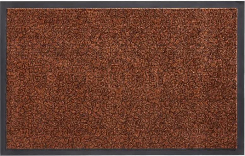 Zala Living - Hanse Home koberce Protiskluzová rohožka Smart 102663 Braun - 45x75 cm