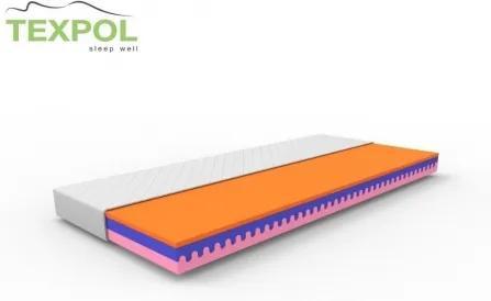 Luxusný vysoký matrac SALOME 195 x 80 cm Aloe Vera
