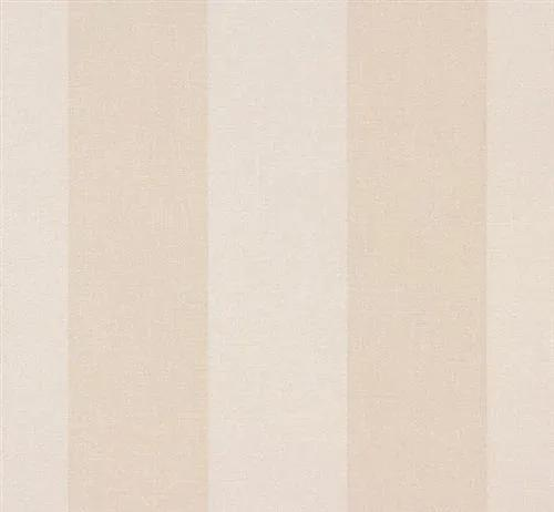Vliesové tapety, pruhy béžové, Sinfonia 238910, P+S International, rozmer 10,05 m x 0,53