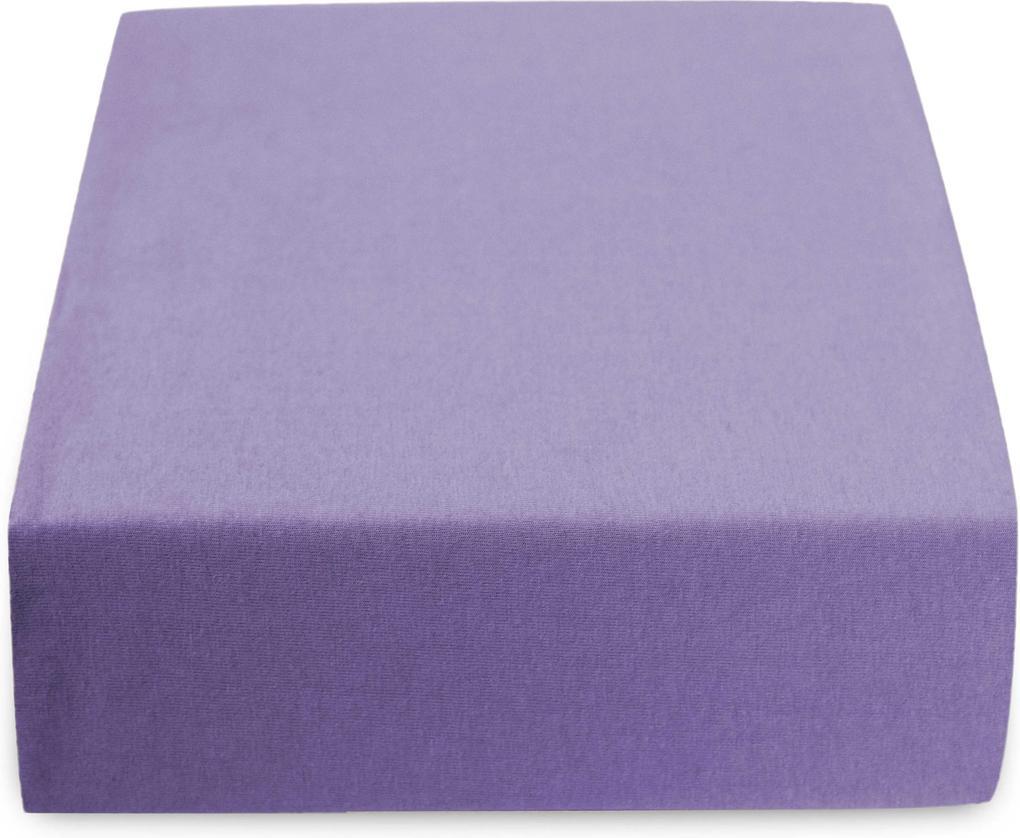 Jersey plachta fialová 200x220 cm