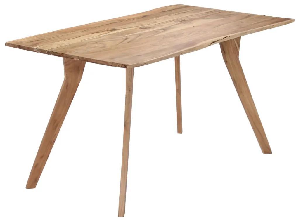 vidaXL Jedálenský stôl z akáciového dreva 140x80x76 cm