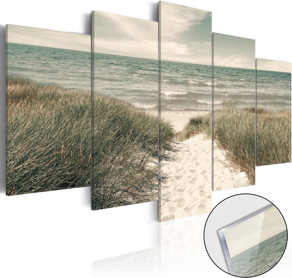Obraz na akrylátovom skle - Quiet Beach [Glass] 100x50