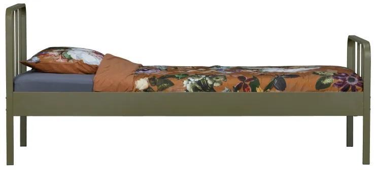 Mees posteľ oceľová zelená 90x200