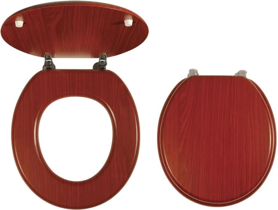 Novaservis WC/ORECHLYRA sedátko na WC dýhované drevo