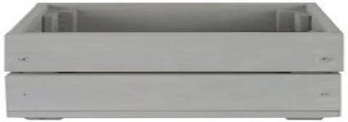 Drevená debnička SD-2-60X40 farebné varianty Povrchová úprava: Sivá