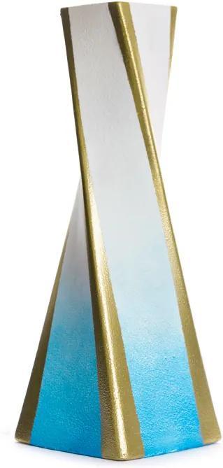 Maľovaná váza ELA 14x41 cm