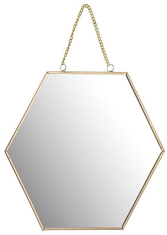 DekorStyle Zrkadlo HONEY zlaté