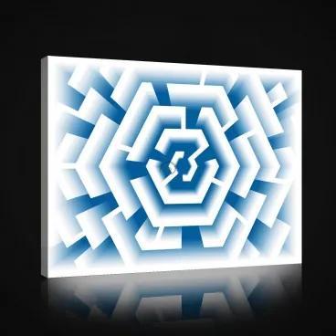 Obraz na plátne obdĺžnik - OB1005 - Labyrint 100cm x 75cm - O1