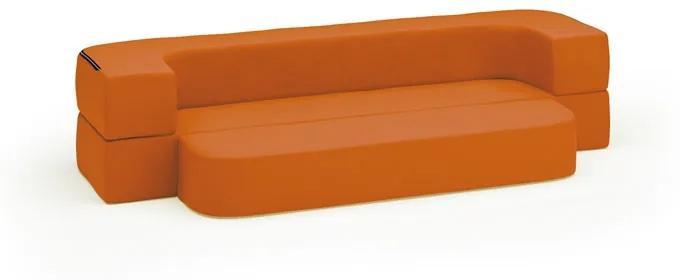 Sedacia súprava Softy, oranžová