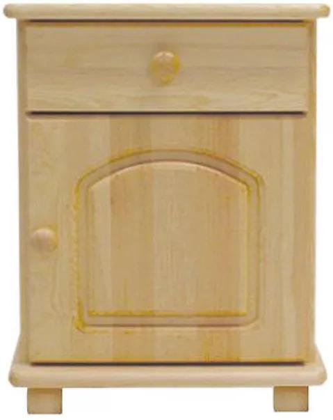 AMI nábytok noční stolek S5 ořech
