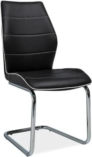 Najlacnejsinabytok H-331 jedálenská stolička, čierna