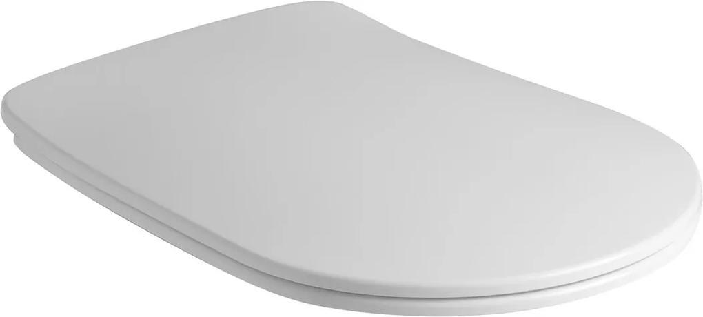 Nolita 539101 WC sedátko Soft Close SLIM, duroplast, biele