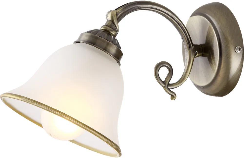 Globo 60208W Nástenné Lampy antická meď 1 x E27 max. 60w 18 x 16 x 16 cm