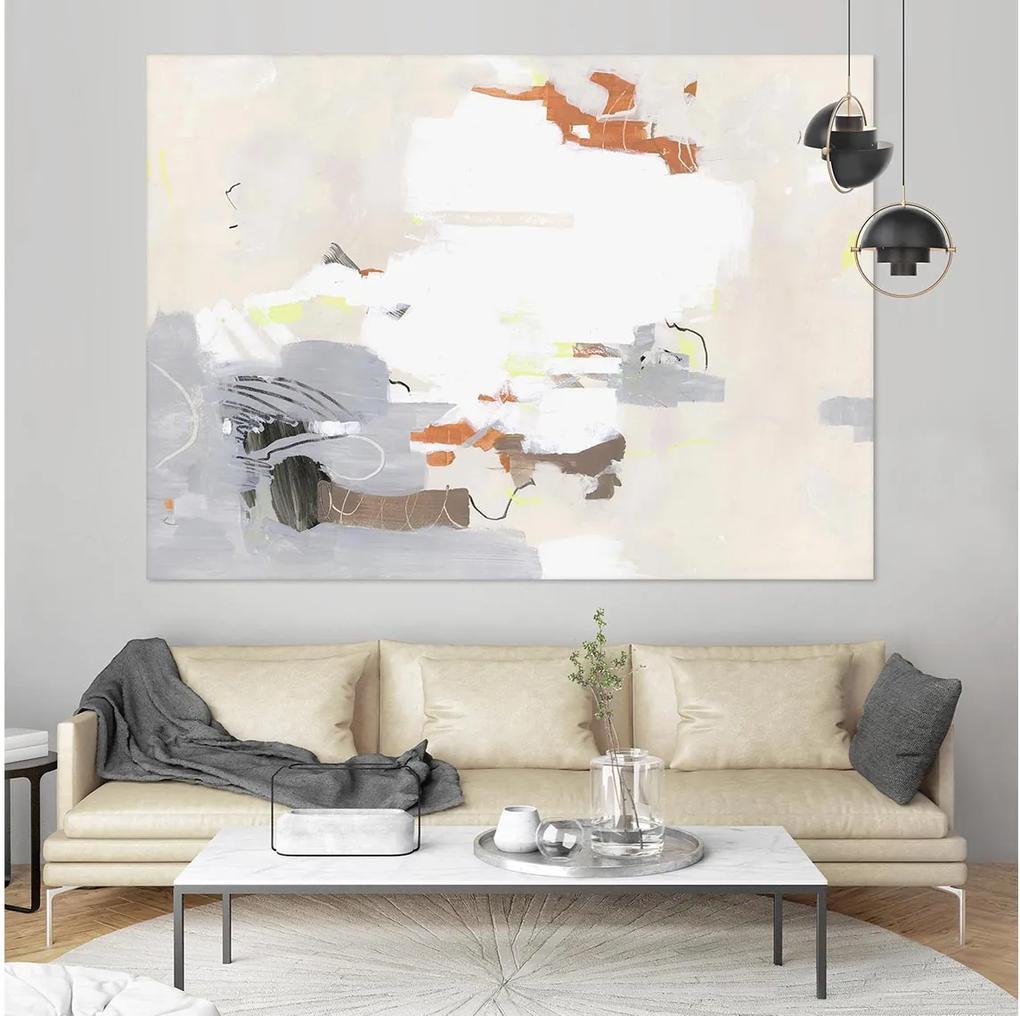 THREE_DAY DRAMA – 100 x 75 cm