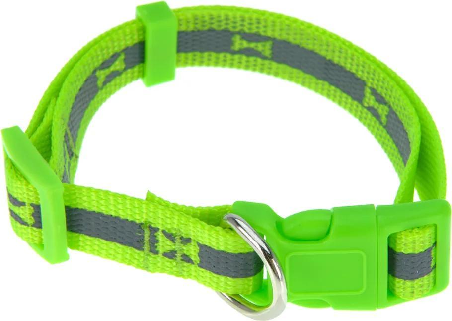Obojok pre psa Neon zelená, veľ. S