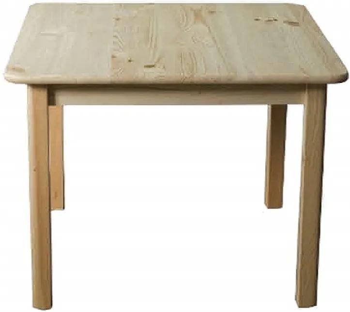 AMI nábytok Stůl obdélníkový borovice č1 150x75 cm