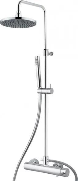M&Z Ditirambo 02097 QT sprchová termostatická nástenná batéria, komplet