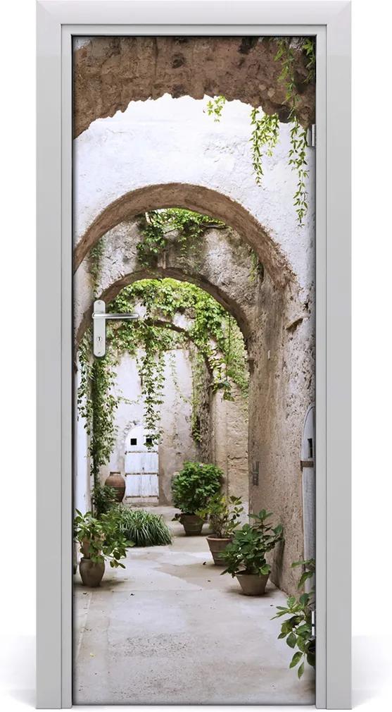 Fototapeta samolepící na dveře Zámek akrády
