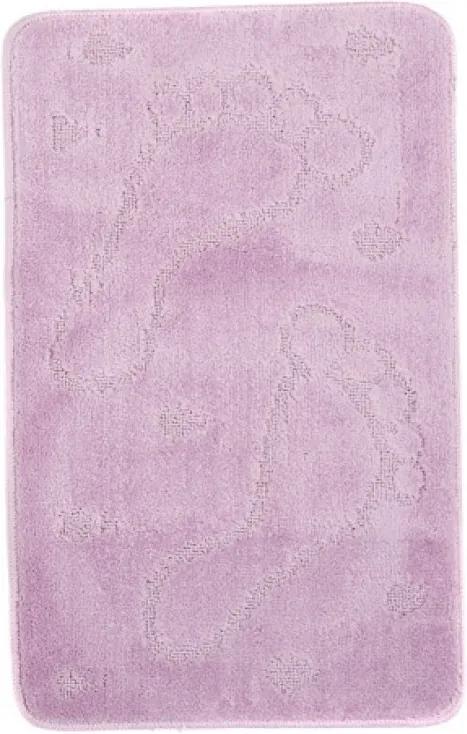 Kúpeľňová predložka 1001 fialová, Velikosti 50x80cm
