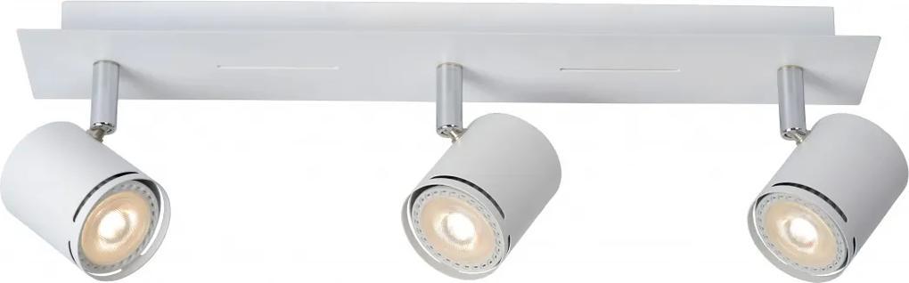 LED stropné svietidlo bodové Lucide Rilo 3x5W GU10