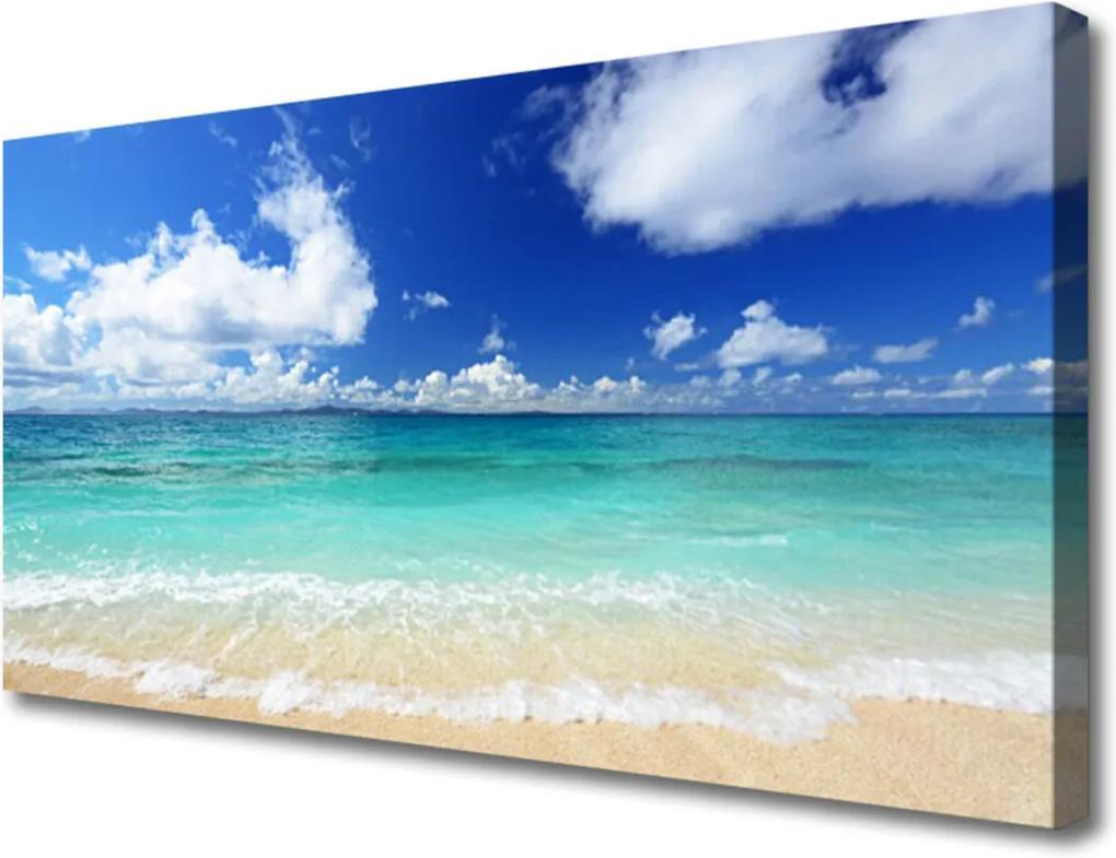 Obraz Canvas Moře pláž krajina