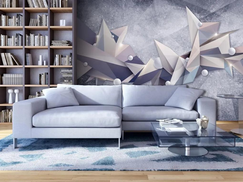 Murando DeLuxe 3D tapeta - Mrazivé ostří 150x105 cm