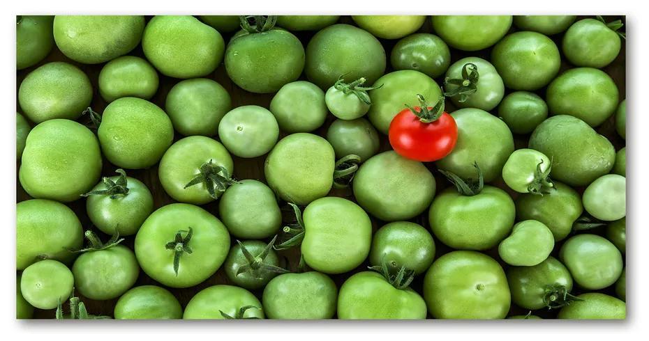 Foto obraz akrylový Zrelá paradajka pl-oa-140x70-f-73698331
