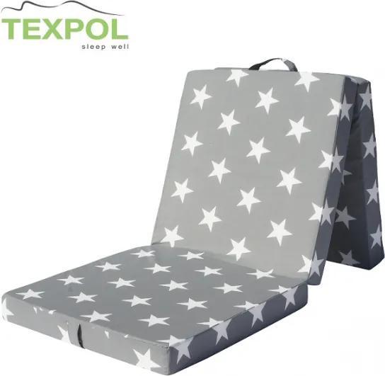 TEXPOL Skladací matrac TOMY PLUS - STAR