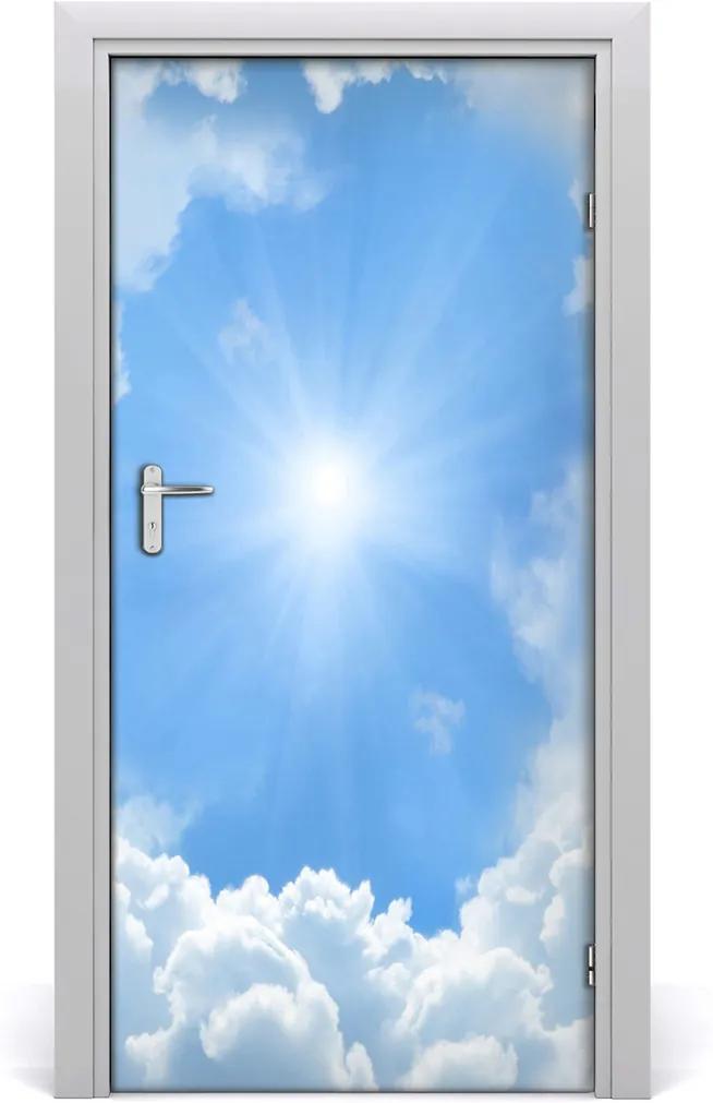 Fototapeta na dveře Mraky na nebi