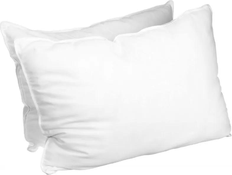 Povlak na vankúš biely hotelová kapsa Rozmer: 50 x 70 cm