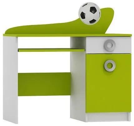 MAXMAX Písací stôl FUTBAL - TYP A pre chlapca