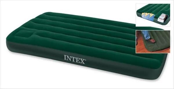 Nafukovacia posteľ s pumpou TWIN Downy Bed - 6021