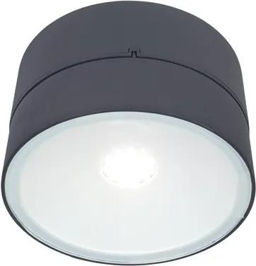 LUTEC 5626002118 TRUMPET nástenné LED svietidlo 16W 4000lm IP54 tmavá šedá
