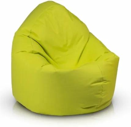 Ecopuf Sedací vak ECOPUF - ZAC - polyestér NC1 - Svetlo zelená