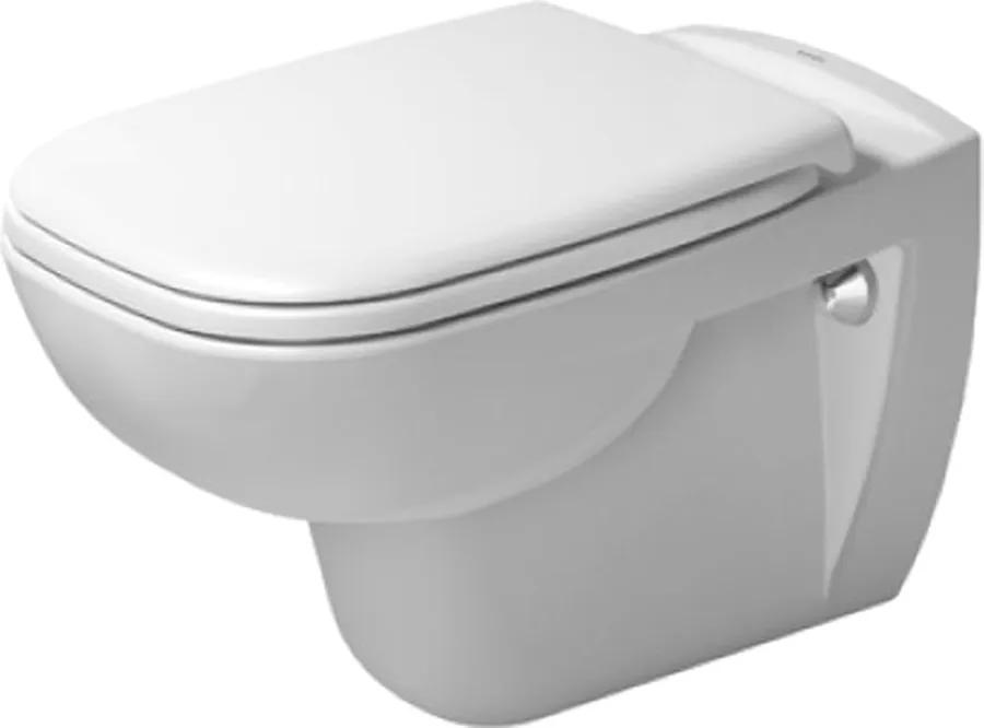 D-CODE Duravit D-Code - závesné WC + sedátko (vrátane sklápacej automatiky), D 45350900A1