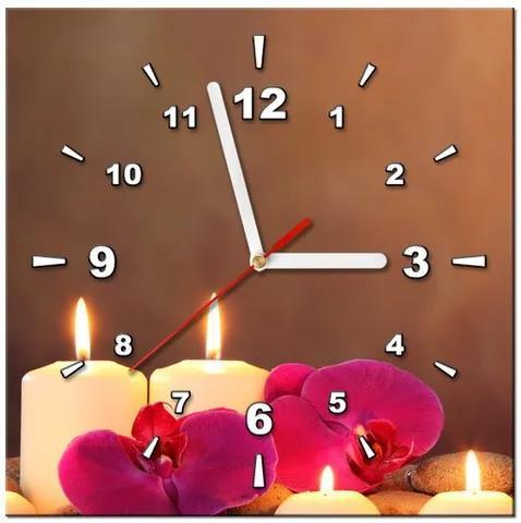 41277c8dc Tlačený obraz s hodinami Romantický večer ZP1120A_1AI | Biano