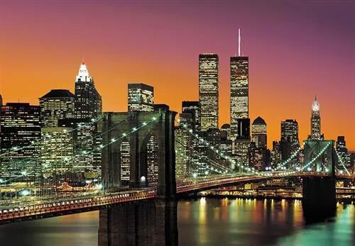 Vliesové fototapety, rozmer 366 x 254 cm, New York City, W+G 00960