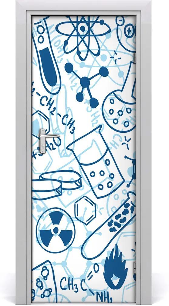 Fototapeta samolepící na dveře Chemie pozadí