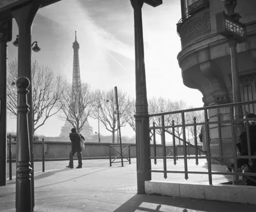 Luxusné vliesové fototapety, rozmer 325,5 cm x 270 cm, Paríž, P+S International CL43B