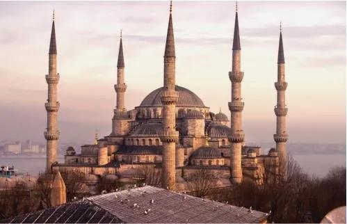 Luxusné vliesové fototapety, rozmer 418,5 cm x 270 cm, Istanbul, P+S International CL41A