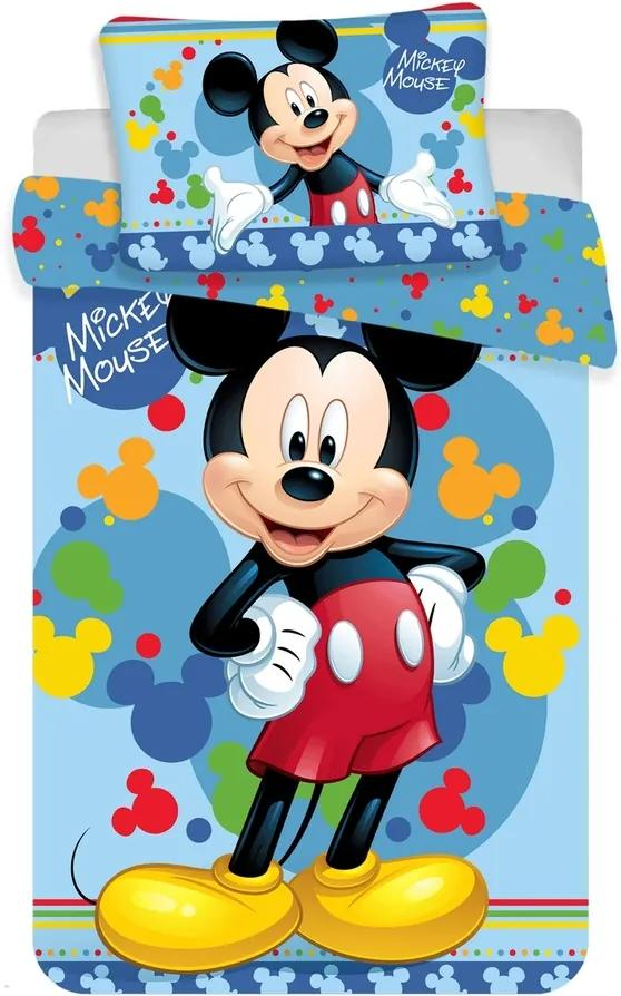 Jerry Fabrics Disney povlečení do postýlky Mickey baby 02 100x135, 40x60 cm