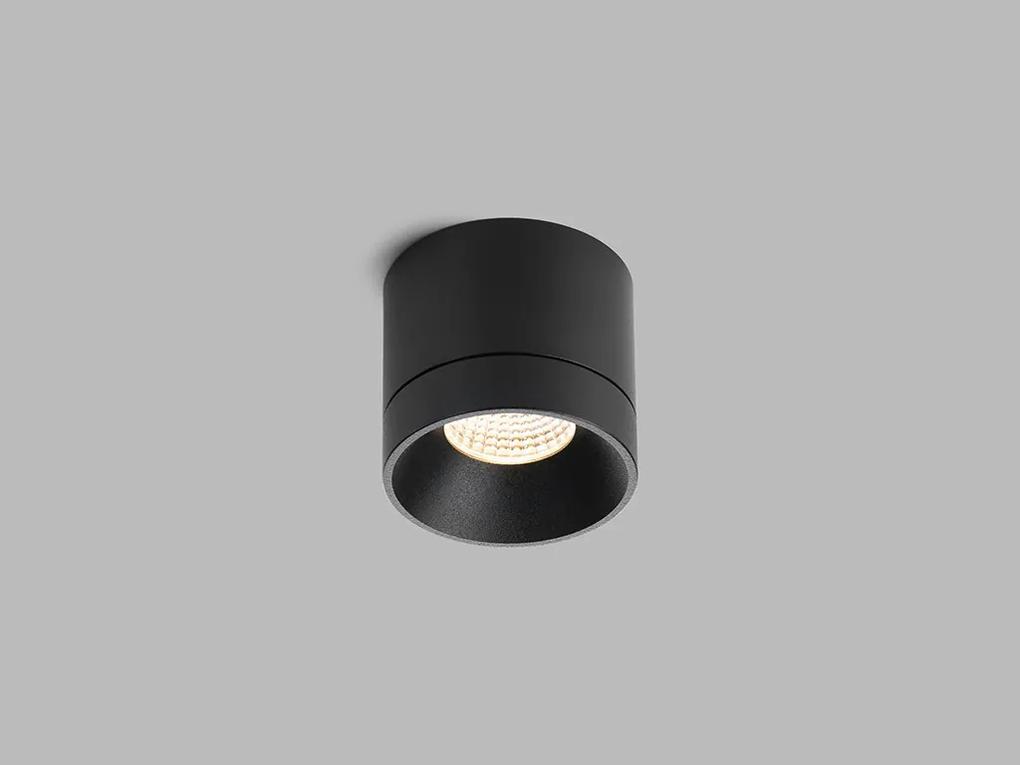 LED2 1110933 TINY stropné povrchové bodové svietidlo 78mm 8W/704lm 3000K čierna